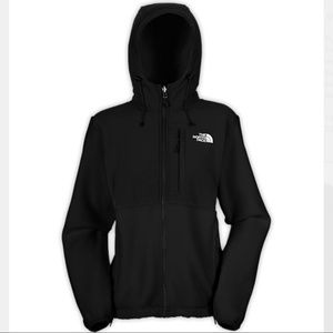 The North Face Denali Fleece Hoodie in Black Small